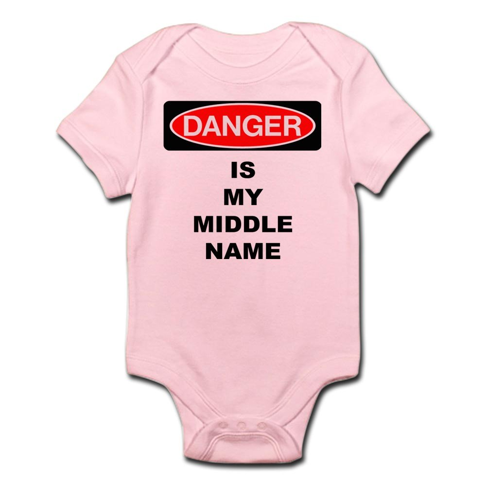 Danger Is My Middle Name Body Suit Cute Infant Bodysuit Baby Romper CafePress