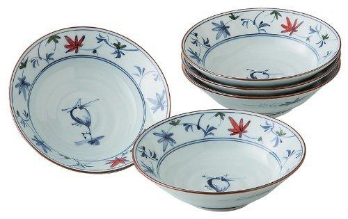 Heron Karakusa Medium Bowl by Hama pot