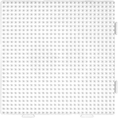 Loisir Cr/éatif Hama Midi Plaque 234 Carr/ée Assemblable Blanche