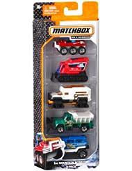 (凑单)美泰C1817 Mattel5辆小车模 Matchbox 5-Pack Assortment 黑五价 $4.06