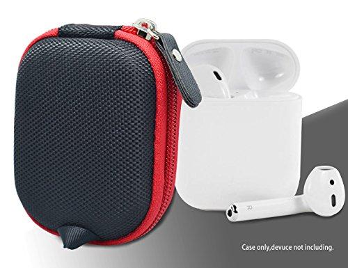 Black Protective Case for Airpods Case; SanDisk 8GB MP3 Player; Bad Elf 2200 GPS Pro, 2300, Sennheiser CX 685, OCX 685i, PMX 685i, Skullcandy Ink'd 2 Earbud, TaoTronics TT-BH06, AYL, Zipbuds