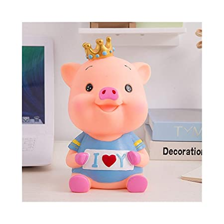 LALAWO Caja de Almacenamiento Gran Cerdo Creativo Hucha ...