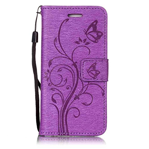 iPhone 6 6S Coque Portefeuille , Leiai Mode Cuir PU + silicone doux Housse Gel Etui Portefeuille Case Bummper Cover Imperméable pour Apple iPhone 6 6S Rose
