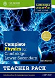 Complete Physics for Cambridge Secondary 1 Teacher Pack: Thorough Preparation for Cambridge Checkpoint - Rise to the Challenge of Cambridge IGCSE (Checkpoint Science)