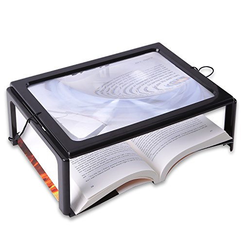 Rectangular Magnifier With Led Light