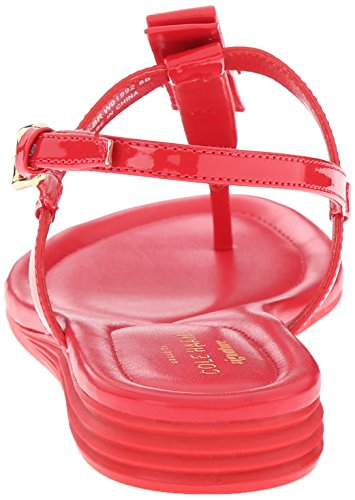 Cole Haan Womens Marnie Wig Sandaal True Red Patent