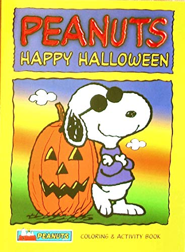 (Peanuts Halloween Coloring and Activity Book (easy tear-out)