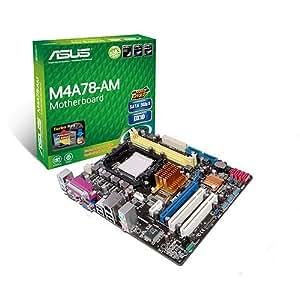ASUS M4A78-AM - Placa base (DDR2-SDRAM, DIMM, Dual, AMD, Athlon, Athlon II, Sempron, Phenom, Socket AM3)