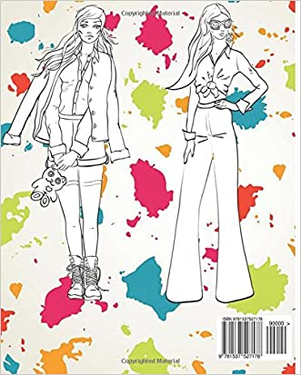 Best Fashion Coloring Books For Adults 2017 Fun And Fresh Styles