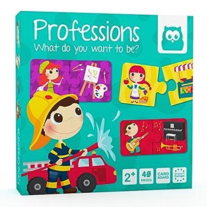 Eureka Kids 4830001 - Puzzle de las profesiones: Amazon.es: Bebé