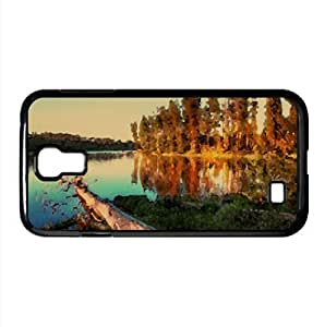 Cut Tree Watercolor style Cover Samsung Galaxy S4 I9500 Case (Landscape Watercolor style Cover Samsung Galaxy S4 I9500 Case)