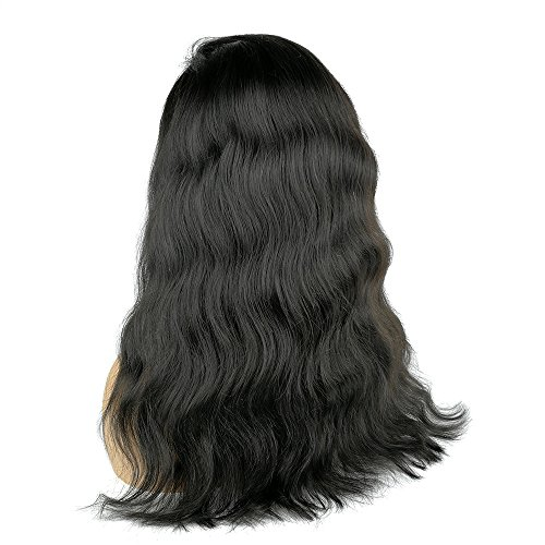 Human Hair 360 Lace Wig Natural Wave Wavy Body Wave Brazilian Virgin Hair 150% Density Pre plucked Hairline Natural Color with Baby Hair Bleached Knots Glueless(360 Lace Wig, 14 inches) by HR honrin hair (Image #6)