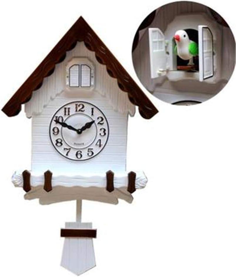 CCHM Monedero de Cuco Cuco Música Reloj de Pared de la Manera Creativa de la Sala silenciosa del Reloj del Reloj del pájaro