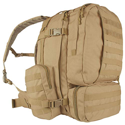 Fox Outdoor Products Advanced 3-Day Combat Pack, Coyote from Fox Outdoor