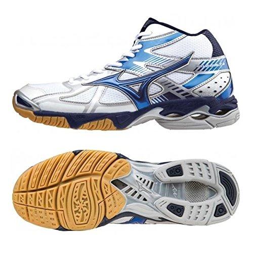 Mizuno - Mizuno Wave Bolt 4 Mid Scarpe Pallavolo Bianche 156524