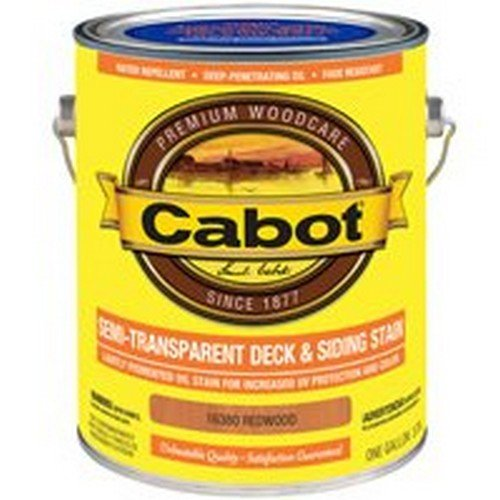 Cabot Deck And Siding Stain Redwood Semi Transparent 1 ()