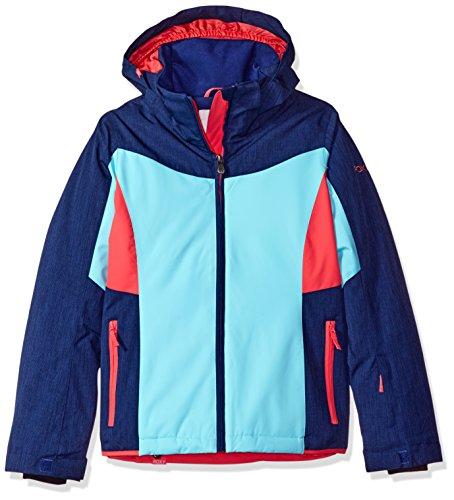 Roxy Big Girls' Sassy Snow Jacket, Blue Print, 10/M by Roxy
