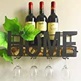 Mountable Wine Bottles Holder Stand Decorative Glass Cork Storage Special Design Decor for Kitchen Living Room Perfect for Gift & eBook by BADA shop