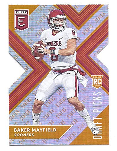 Baker Mayfield 2018 Panini Elite Draft Picks 139 Passing Status