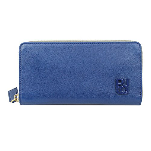 emilio-pucci-blue-leather-long-wallet-46sm12-zip-around