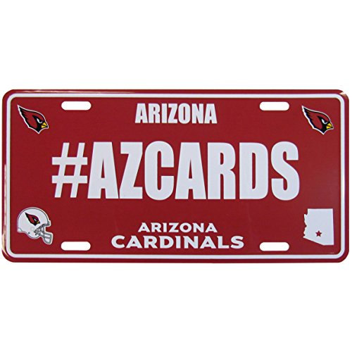 Siskiyou NFL Arizona Cardinals Hashtag License Plate