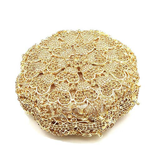 Mariage Main Strass Gold bandoulière pour à de Mini d'embrayage de Silver Mariage Sacs Sac à Color Sac à Femmes Main Sac soirée discothèques Main de à Sacs à Main Sac xwwFZCq1