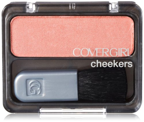 CoverGirl Cheekers Blush, Rose Шелковый 105, 0,12 Унция