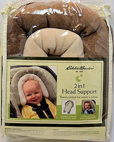 Eddie Bauer174; 2-in-1 Head Support - Chocolate