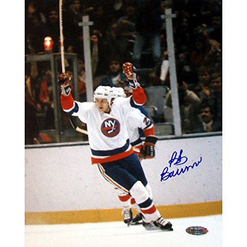 Steiner Sports Bob Bourne Arms Raised Celebration 8x10 Photograph (Bob Bourne Arms)