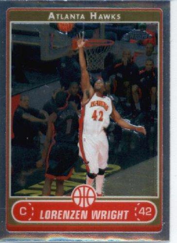 2006 07 Topps Chrome Basketball Card #119 Lorenzen Wright Memphis Grizzlies