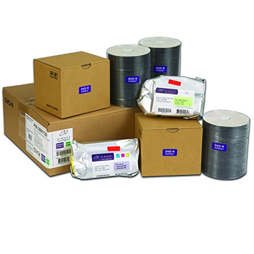 Rimage Everest 600/400 DVD-R Media Kit - 500 Rimage Professional Classic DVD-Rs (White Top), 1 CMY Ribbon, 1 Retransfer Roll