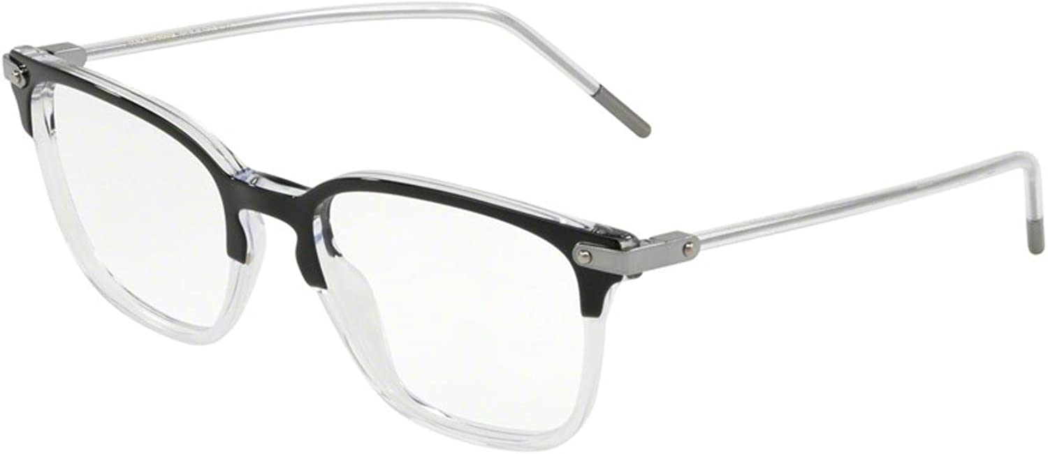 Eyeglasses Dolce /& Gabbana DG 3302 F 675 Top Black On Crystal