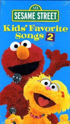 Amazon Com Sesame Street Kids Favorite Songs 2 Vhs Sesame