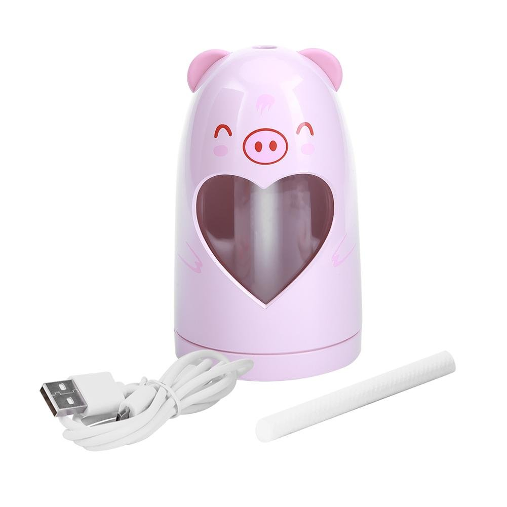 Mist Humidifier Ultrasonic USB Portable Air Humidifiers Purifier for Cars Office Desk Home Babies kids Bedroom 180ML Mini Desktop Cup Humidifier(Pig) by YosooXX (Image #1)