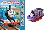 track master cranky - Thomas & Friends by Fisher Price-Ryan Take and Play and I'm Ready to Read Book Bundle-2 items-Book and Train