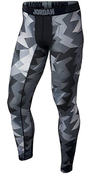 Amazon Com Men S Nike Jordan Stay Cool Compression Retro 7 Tights