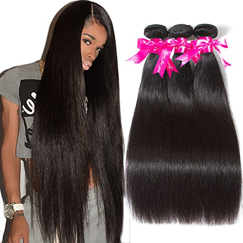Subella Brazilian Straight Hair 3 Bundles Grade 9A