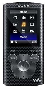 Sony NWZE385 16 GB Walkman MP3 Video Player (Black)