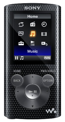 Sony NWZE384 8 GB Walkman MP3 Video Player (Black)