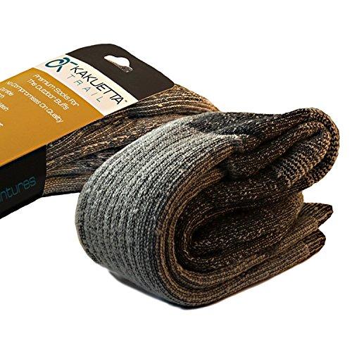 Kakuetta Trail Hiking Socks Merino Wool - Tactical Warm & Cold Weather Gear - 1 Pair