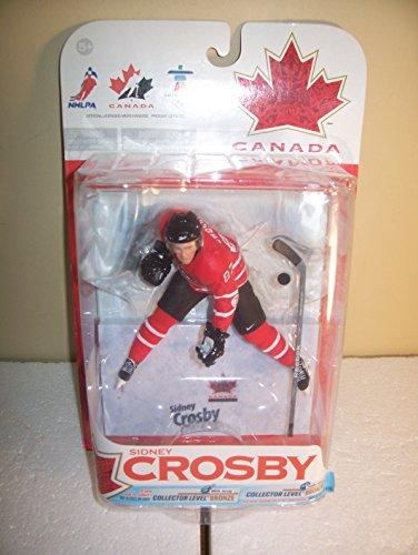 2010 Sidney Crosby McFarlane Team Canada Red Jersey Figure (Crosby Mcfarlane Team Canada)