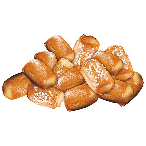 J and J Snack Super Soft Pretzel Bite, 10 gram -- 350 per case.
