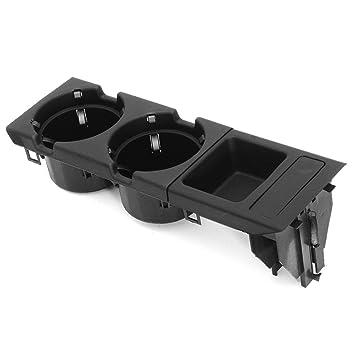 Consola Central para Bebidas/portavasos + Caja de Monedas para BMW Serie E46 3 Bandeja de Consola Central para el Cliente Caja de Almacenamiento de ...