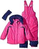 Pink Platinum Big Girls' Better Snow CB Snowsuit, Pink Glow, 10/12