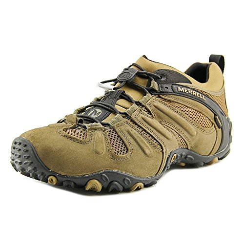 Merrell Men's Chameleon Prime Stretch Waterproof Hiking Shoe,Canteen/Brown,8.5 M - Drive Rodeo Shops At