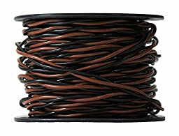 100ft Roll 14 Gauge Solid Core Heavy Duty Professional Grade Twisted Dog Fence Wire - Compatible with All Brands