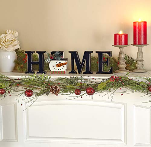 "The Lakeside Collection Wooden Decorative Home Signs with Letters, Pumpkin, Turkey, Snowflake - 13 Pc. - This 13-Pc. set of decorative holiday figures and signs is a fun and simple way to celebrate the time of year. Kids and children especially will enjoy getting to change the icon for each season. Features characters representing Thanksgiving, Halloween, Christmas, and all four seasons. Place on your mantel, counter, dining table or shelf when you're getting ready for the next season. A perfect housewarming gift, you can arrange the pieces next to each other to spell out ""HOME"". You can also replace the ""O"" with any one of 10 icons that represent the season. - living-room-decor, living-room, home-decor - 51N%2BTzIcodL -"
