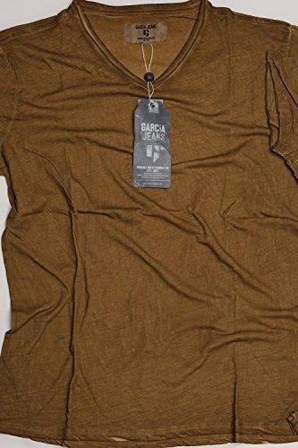 Garcia G71002-2410 Herren T-Shirt V-A uni Tiger Eye