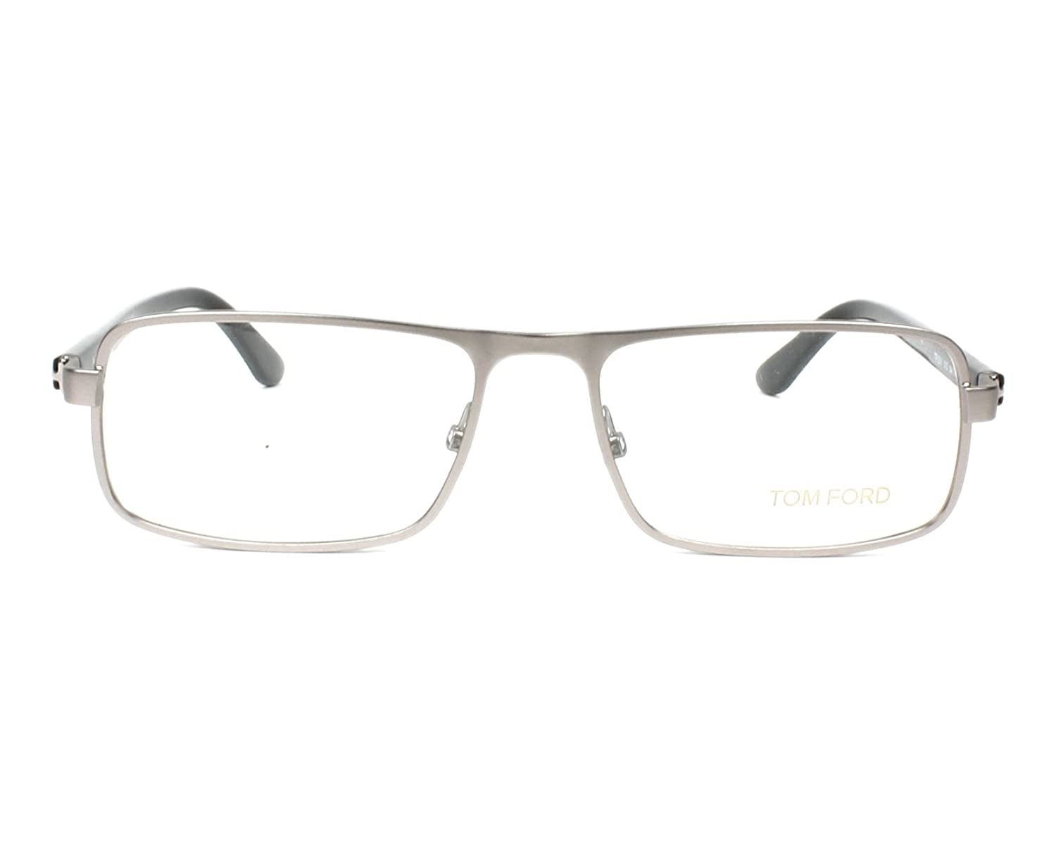 0d273277d60 Amazon.com  Tom Ford Rx Eyeglasses - TF5201 Silver   Frame only with demo  lenses.  Clothing