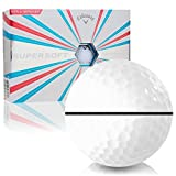 Callaway Golf Supersoft AlignXL Personalized Golf Balls